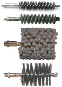GI Brushes Cleaning & Unblocking Flexible Hones & Wire Brushes